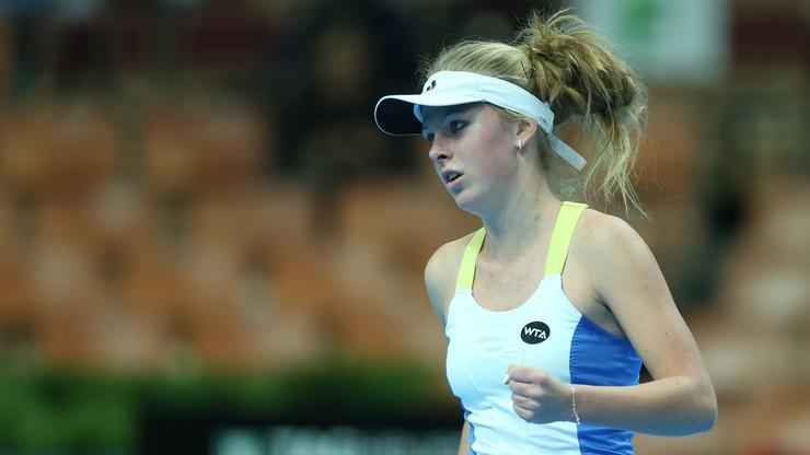 WTA w Berlinie: Magdalena Fręch przeszła eliminacje