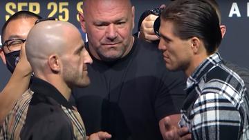 UFC 266: Alexander Volkanovski - Brian Ortega. Karta walk