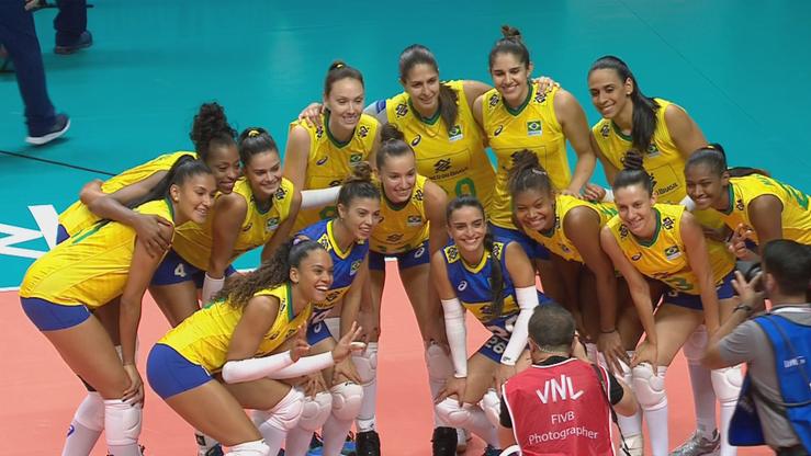 Liga Narodów siatkarek 2021: Korea Południowa - Brazylia. Relacja i wynik na żywo