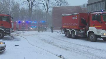Pożar archiwum w Krakowie. Spłonęła część dokumentów