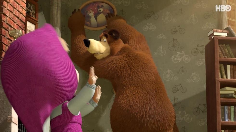 Masza i niedźwiedź I, odc. 26