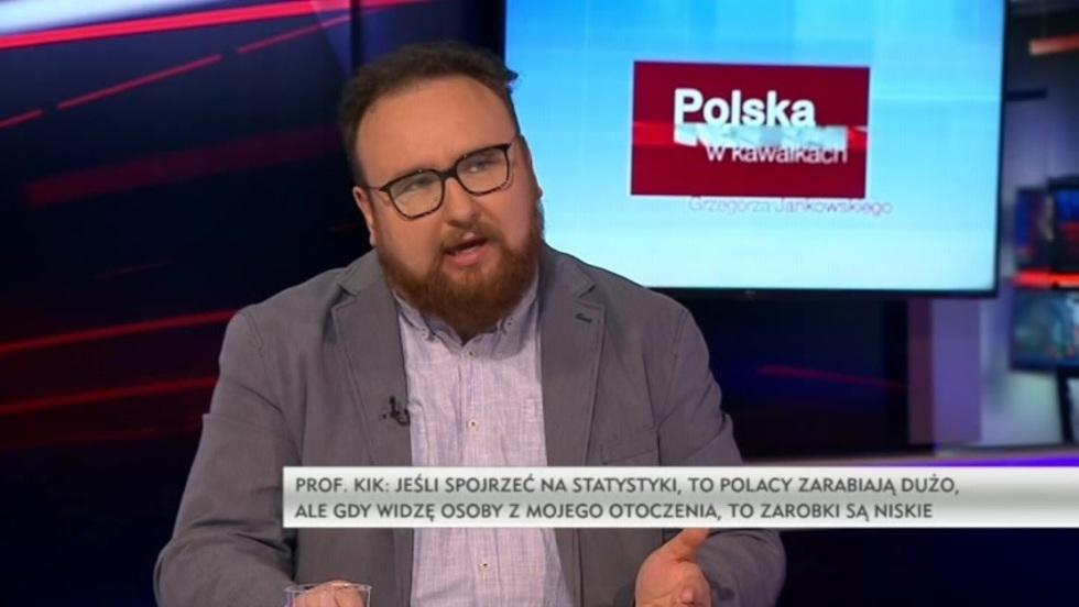 Polska w kawałkach Grzegorza Jankowskiego - prof. Kazimierz Kik, Jakub Majmurek