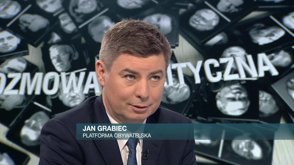 Rozmowa polityczna - Jan Grabiec, Włodzimierz Czarzasty