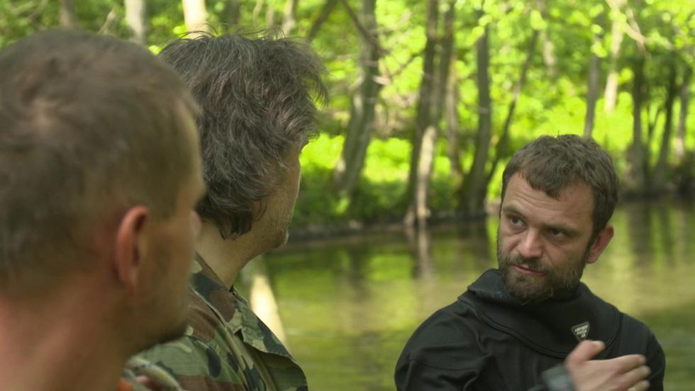 Poszukiwacze historii - Połów na rzece Drawa
