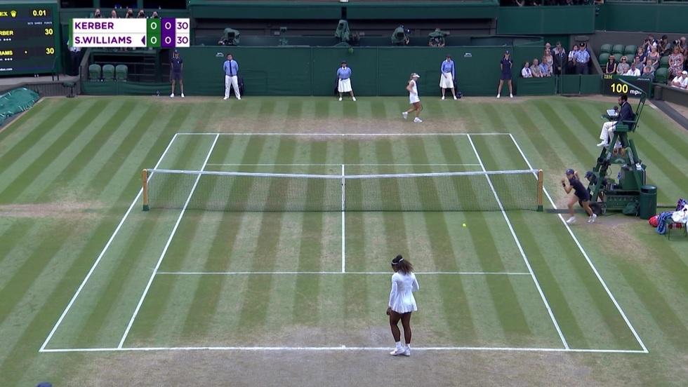 Angelique Kerber - Serena Williams