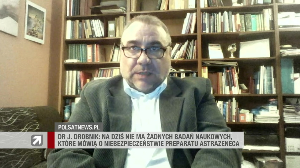 Gość Wydarzeń - dr Jarosław Drobnik